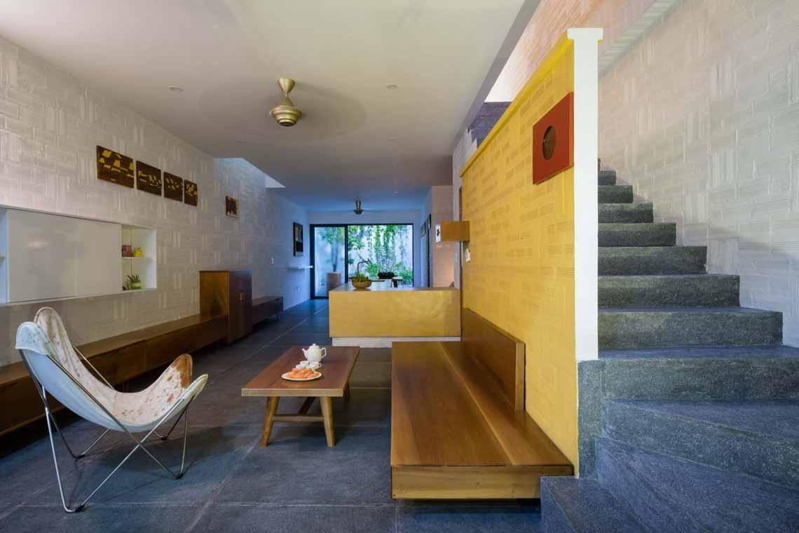 Ngôi nhà hòa quyện kiến trúc Hà Nội và Tây Nam Bộ -12