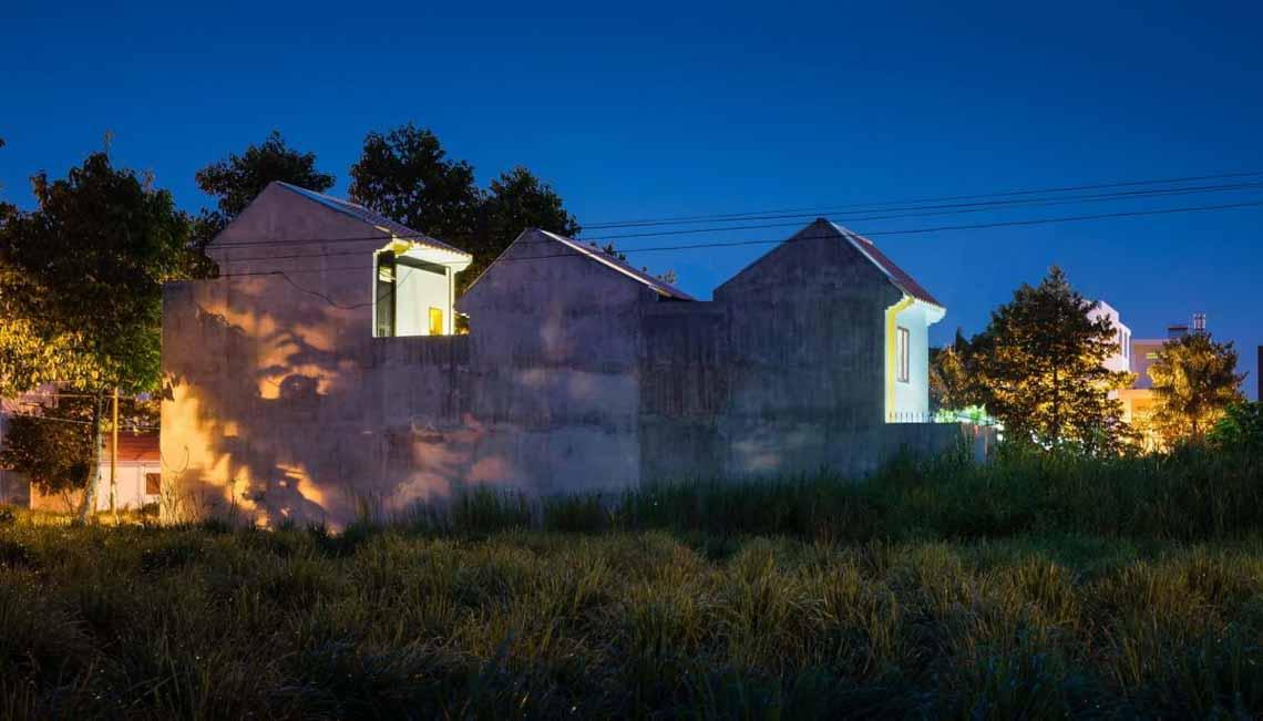 Ngôi nhà hòa quyện kiến trúc Hà Nội và Tây Nam Bộ -13