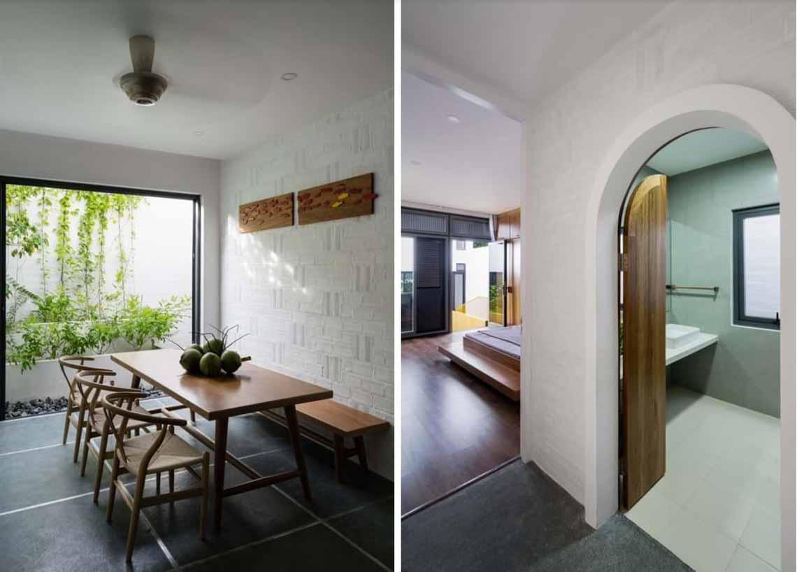 Ngôi nhà hòa quyện kiến trúc Hà Nội và Tây Nam Bộ -15