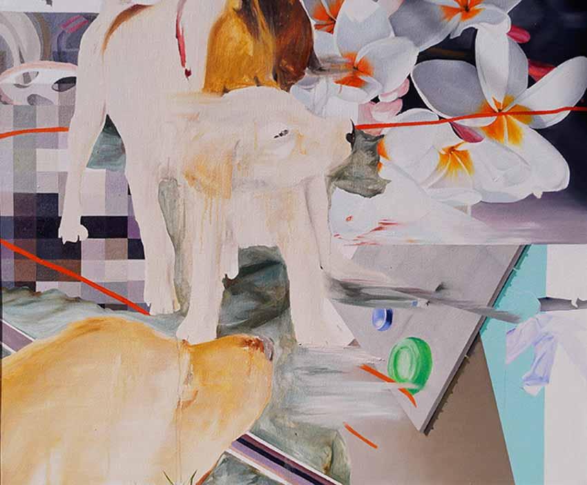Chiêm ngưỡng loạt tranh sơn dầu tươi mới của nữ họa sĩ Luh Gede 23 tuổi đến từ Indonesia -3