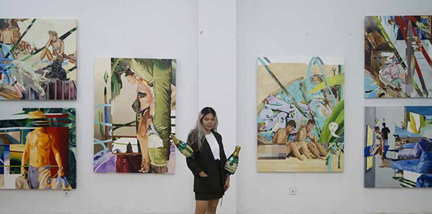 Chiêm ngưỡng loạt tranh sơn dầu tươi mới của nữ họa sĩ Luh Gede 23 tuổi đến từ Indonesia -4