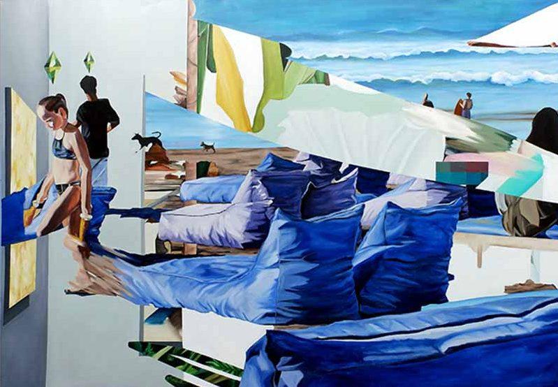 Chiêm ngưỡng loạt tranh sơn dầu tươi mới của nữ họa sĩ Luh Gede 23 tuổi đến từ Indonesia -5