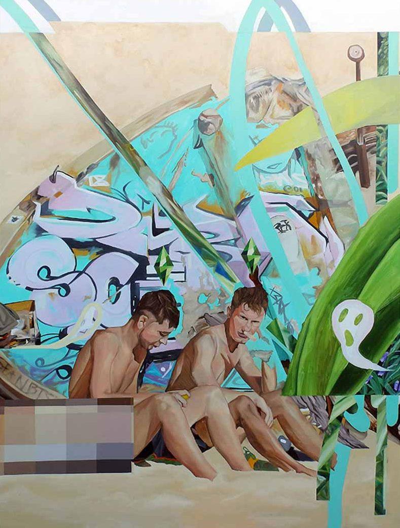 Chiêm ngưỡng loạt tranh sơn dầu tươi mới của nữ họa sĩ Luh Gede 23 tuổi đến từ Indonesia -6