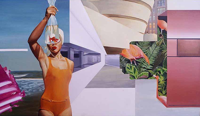Chiêm ngưỡng loạt tranh sơn dầu tươi mới của nữ họa sĩ Luh Gede 23 tuổi đến từ Indonesia -7