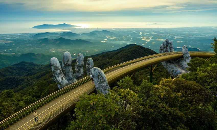 Cầu Vàng – 'Đại sứ' đưa du lịch Việt Nam ra thế giới -1