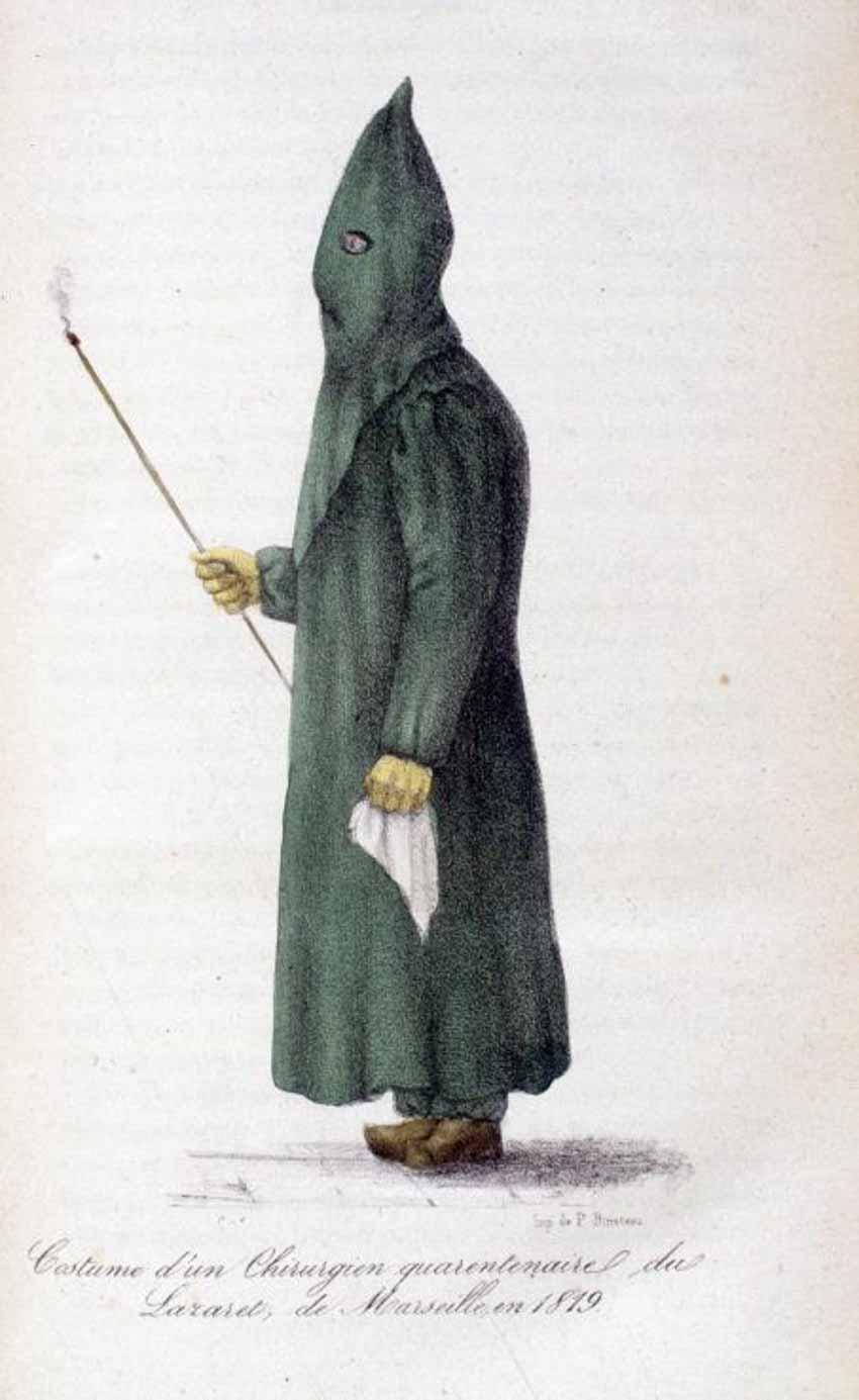 Chiếc khẩu trang từ thế kỷ 17 đến thế kỷ 21 -3