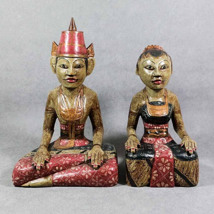 Loro Blonyo - Nghêå phẩm truyền thống của miền trung Java, Indonesia -2