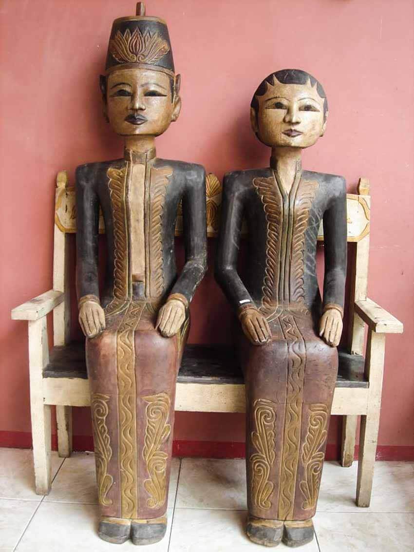Loro Blonyo - Nghêå phẩm truyền thống của miền trung Java, Indonesia -3