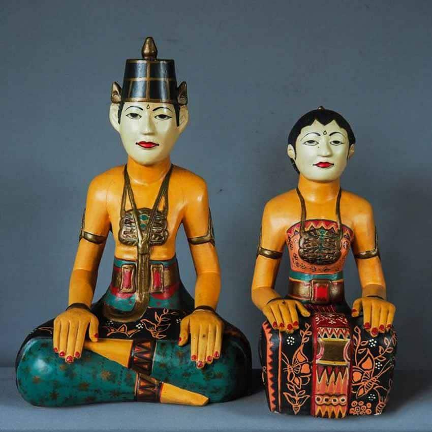 Loro Blonyo - Nghêå phẩm truyền thống của miền trung Java, Indonesia -7