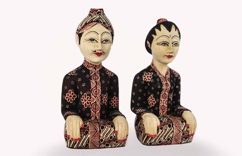 Loro Blonyo - Nghêå phẩm truyền thống của miền trung Java, Indonesia -9