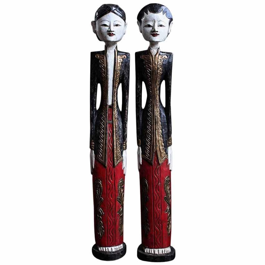 Loro Blonyo - Nghêå phẩm truyền thống của miền trung Java, Indonesia -11