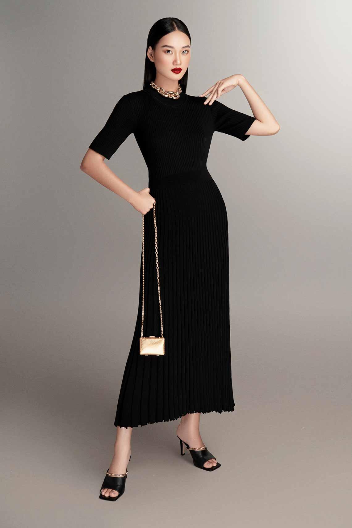 NTK Đỗ Mạnh Cường tư vấn 6 công thức mặc đẹp mùa cuối năm với trang phục dệt kim -5