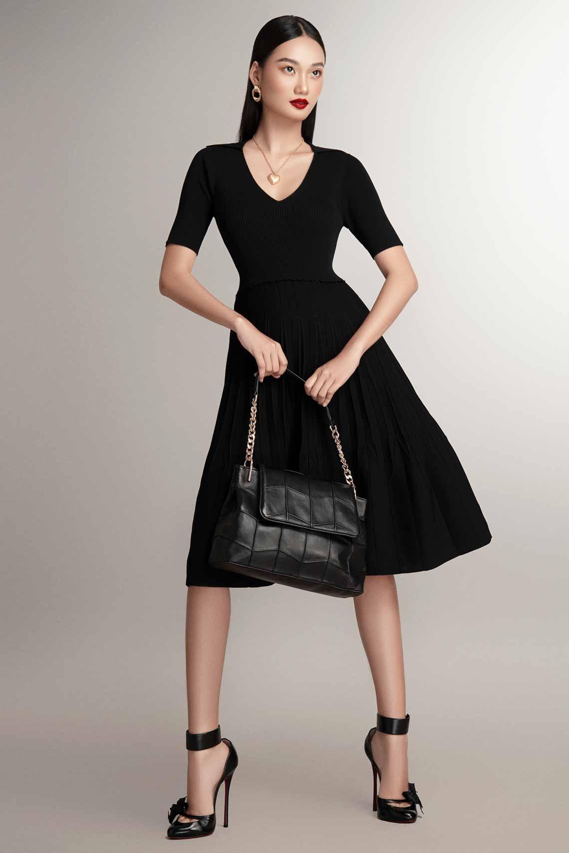 NTK Đỗ Mạnh Cường tư vấn 6 công thức mặc đẹp mùa cuối năm với trang phục dệt kim -12