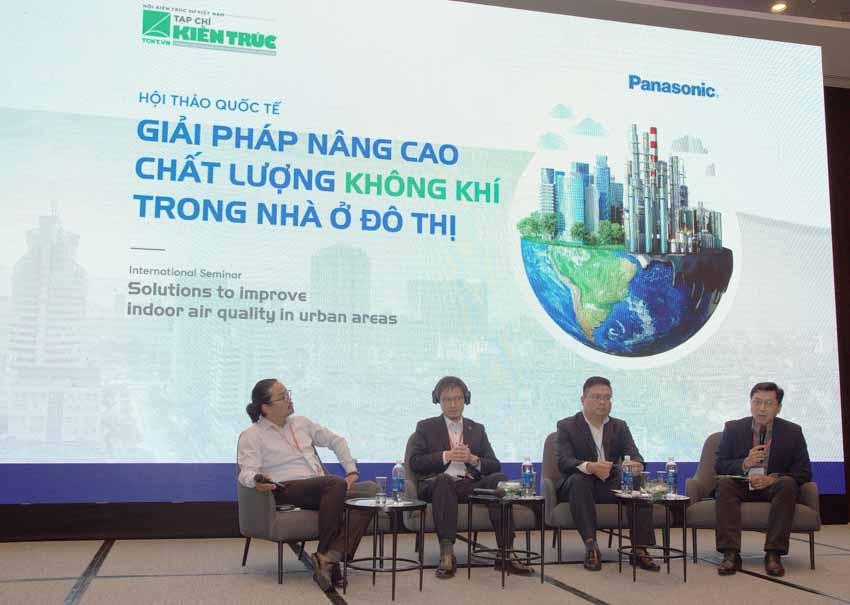 Hội thảo Giải pháp nâng cao chất lượng không khí trong nhà ở đô thị -1
