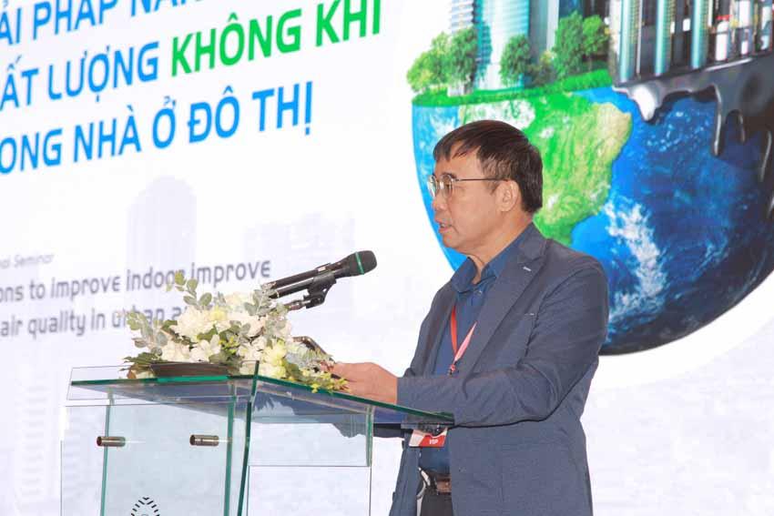 Hội thảo Giải pháp nâng cao chất lượng không khí trong nhà ở đô thị -2