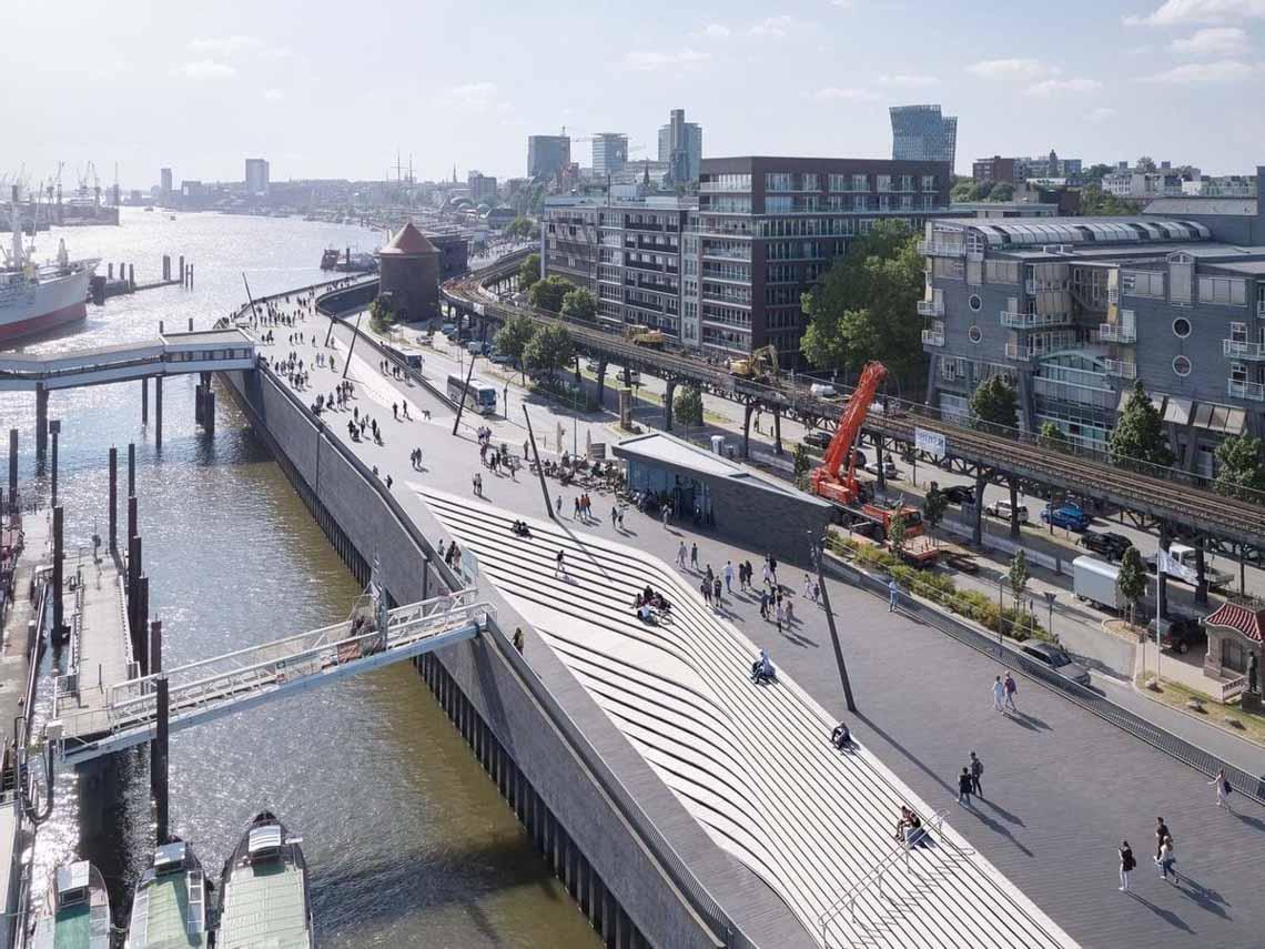 10 công trình dạo bộ ven biển giúp chống ngập cho các thành phố -4