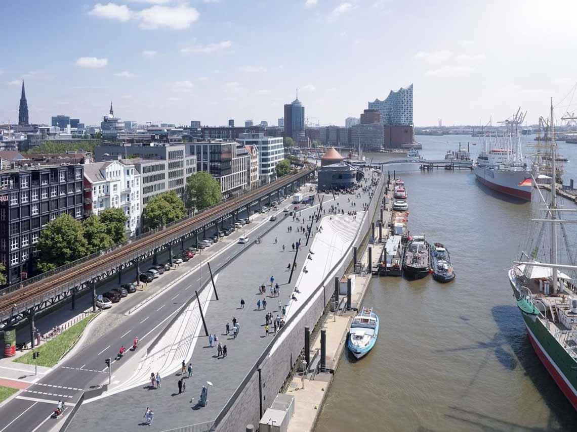 10 công trình dạo bộ ven biển giúp chống ngập cho các thành phố -5
