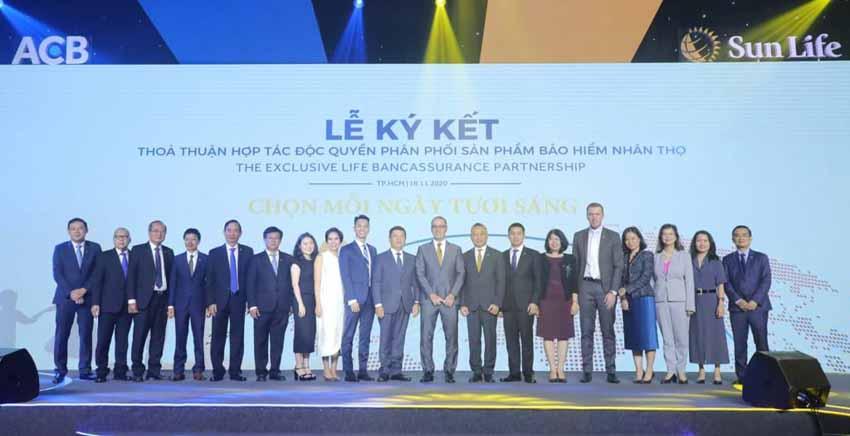 ACB 'bắt tay' Sun Life Việt Nam độc quyền phân phối bảo hiểm nhân thọ kéo dài 15 năm -3