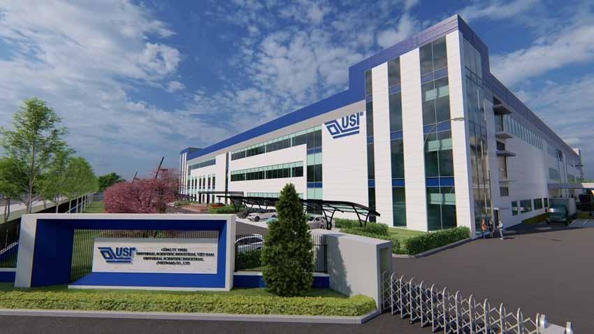 Universal Scientific Industrial xây nhà máy mới tại Hải Phòng -2