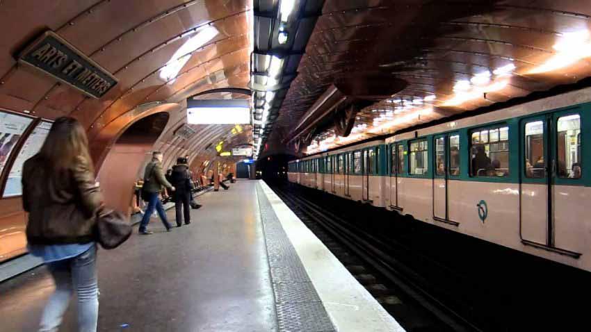 Metro Paris và những trạm dừng rất ấn tượng -1