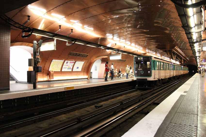 Metro Paris và những trạm dừng rất ấn tượng -5