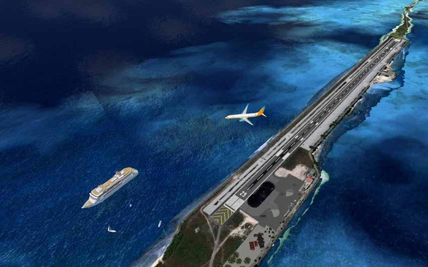 Khi đảo là những sân bay thú vị -2