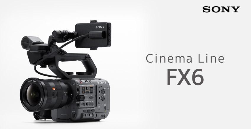 Sony ra mắt FX6 – Camera gọn nhẹ với cảm biến Full-frame-1
