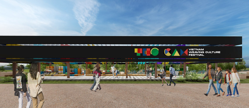 Hé lộ không gian văn hóa Thổ cẩm trên Đảo nổi thành phố Gia Nghĩa tỉnh Đắk Nông - 1
