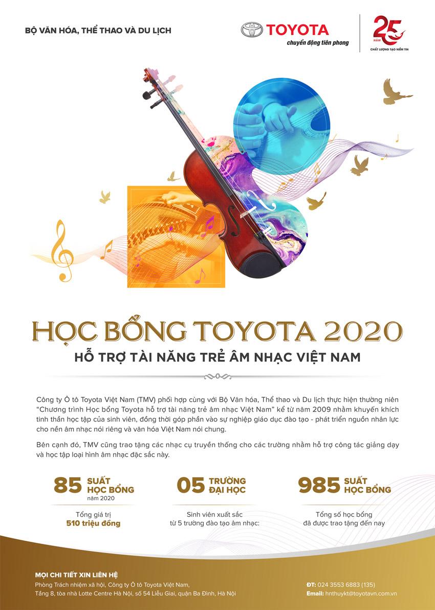 Toyota trao tặng 200 suất học bổng hỗ trợ sinh viên chuyên ngành kỹ thuật và âm nhạc-3
