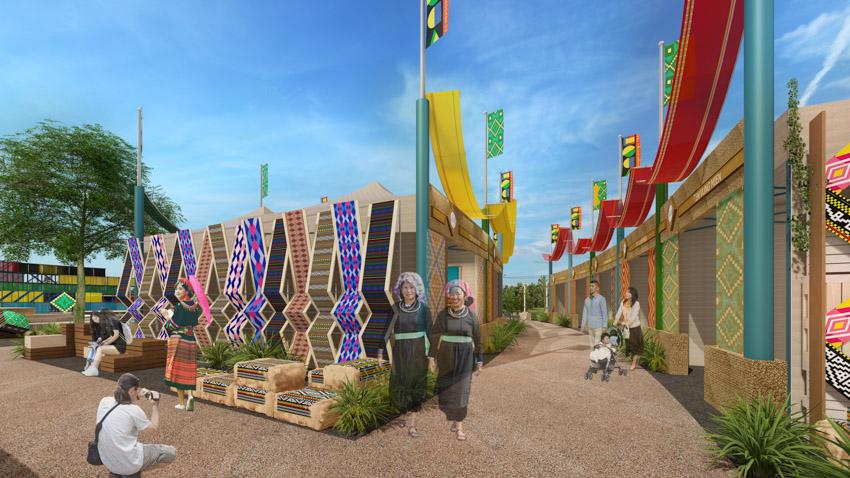 Hé lộ không gian văn hóa Thổ cẩm trên Đảo nổi thành phố Gia Nghĩa tỉnh Đắk Nông - 5