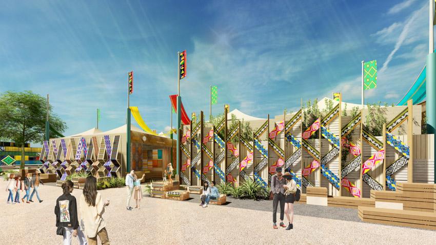 Hé lộ không gian văn hóa Thổ cẩm trên Đảo nổi thành phố Gia Nghĩa tỉnh Đắk Nông - 6