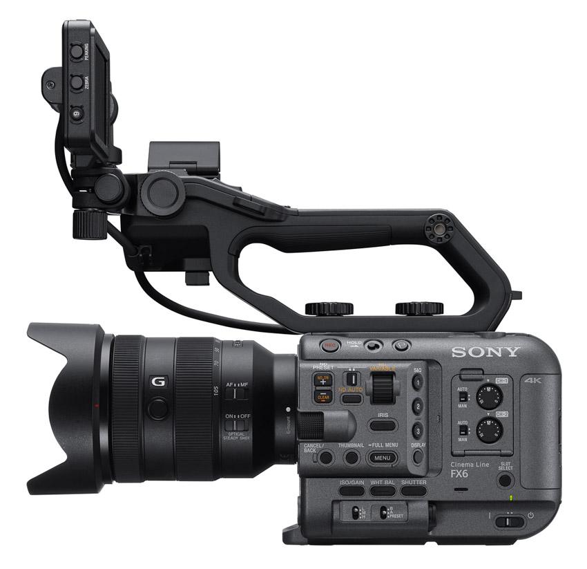 Sony ra mắt FX6 – Camera gọn nhẹ với cảm biến Full-frame-2
