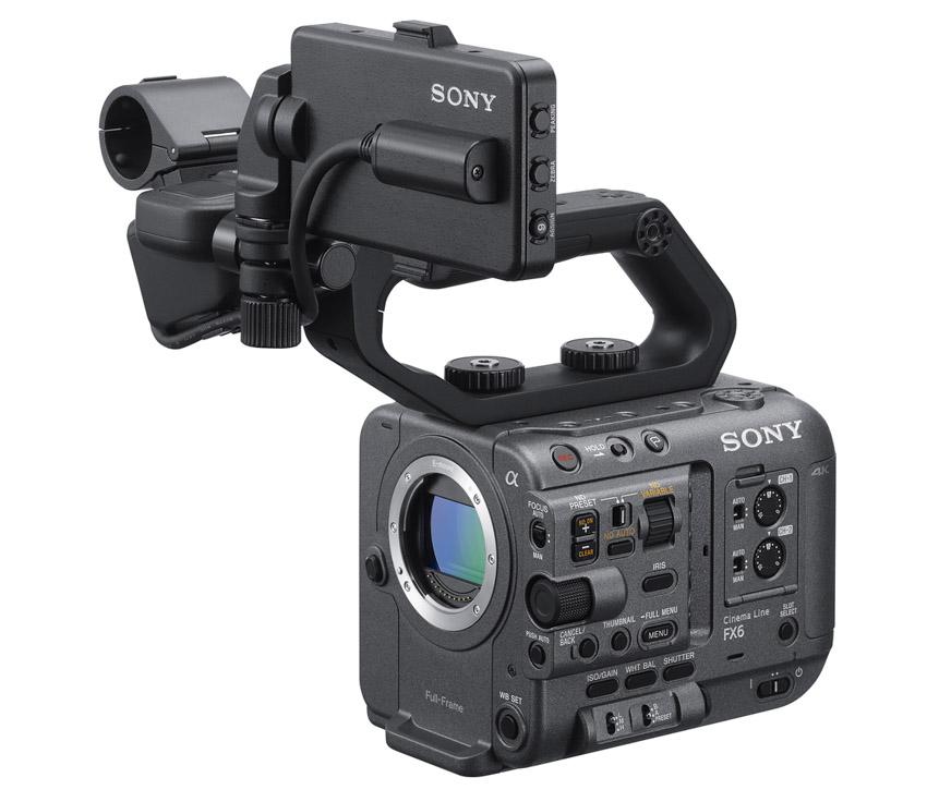 Sony ra mắt FX6 – Camera gọn nhẹ với cảm biến Full-frame-3