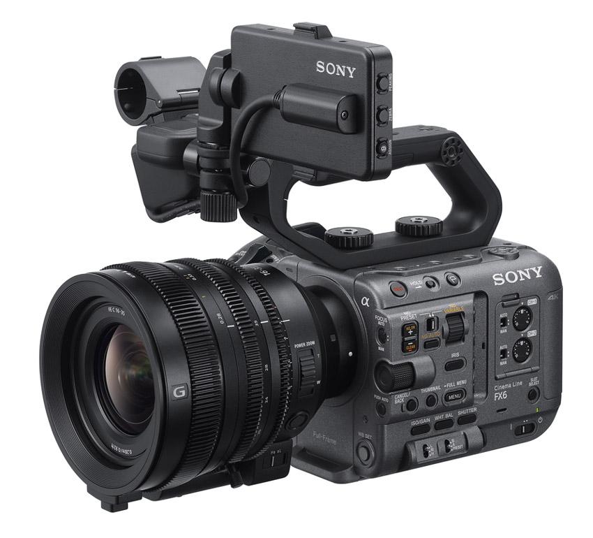 Sony ra mắt FX6 – Camera gọn nhẹ với cảm biến Full-frame-5