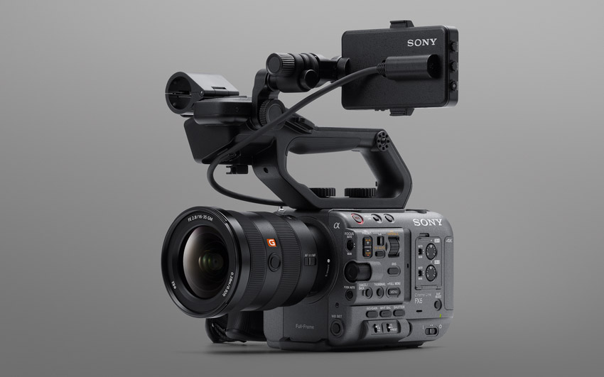 Sony ra mắt FX6 – Camera gọn nhẹ với cảm biến Full-frame-6
