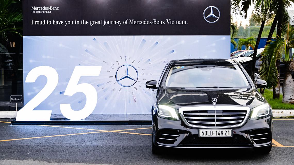 Mercedes-Benz Việt Nam kỷ niệm 25 năm thành lập - 1