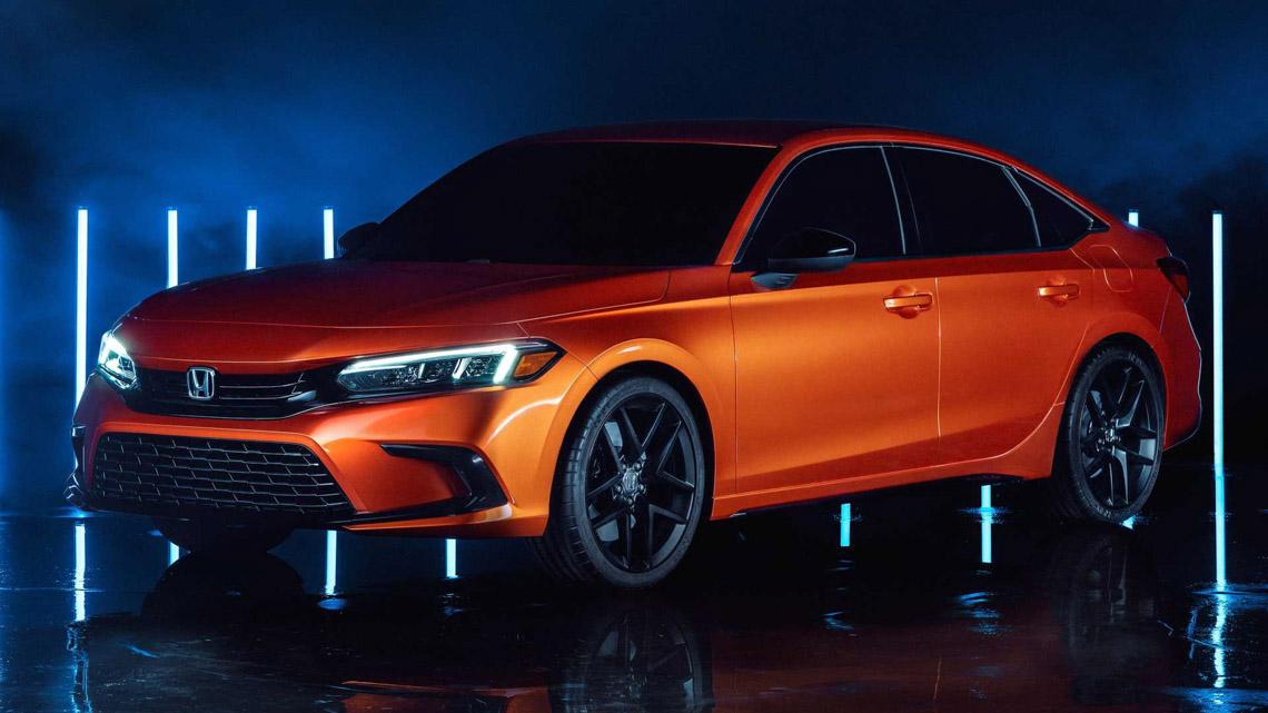Honda Civic 2022 thế hệ mới, vẫn mạnh mẽ nhưng phong cách lịch lãm đến bất ngờ - 0