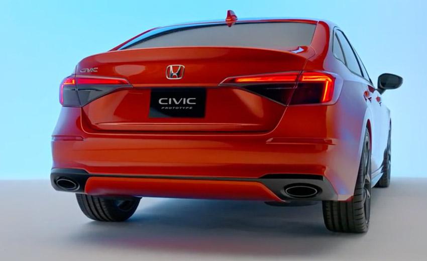 Honda Civic 2022 thế hệ mới, vẫn mạnh mẽ nhưng phong cách lịch lãm đến bất ngờ-16