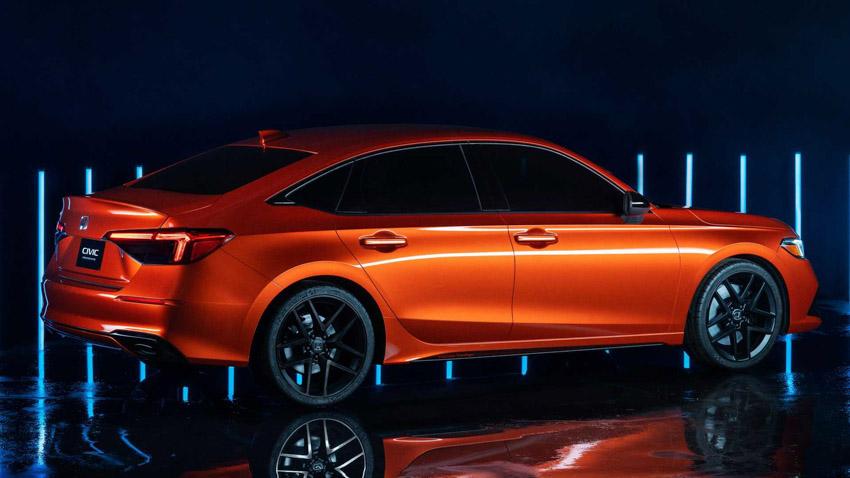 Honda Civic 2022 thế hệ mới, vẫn mạnh mẽ nhưng phong cách lịch lãm đến bất ngờ-4