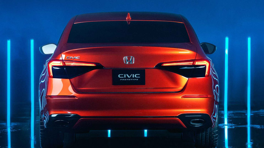 Honda Civic 2022 thế hệ mới, vẫn mạnh mẽ nhưng phong cách lịch lãm đến bất ngờ-5