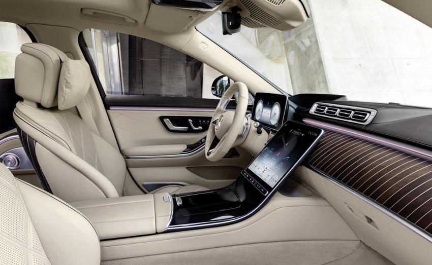 Ra mắt xe siêu sang Mercedes-Maybach S-Class 2021 - 13