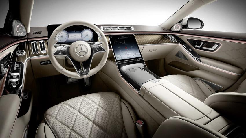 Ra mắt xe siêu sang Mercedes-Maybach S-Class 2021-15