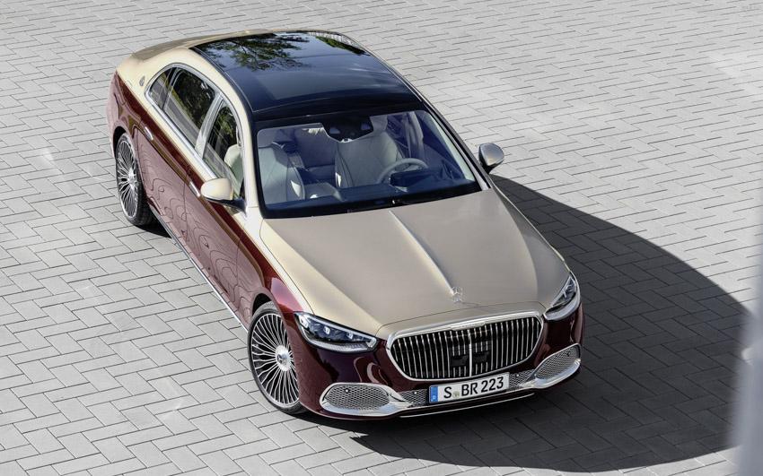 Ra mắt xe siêu sang Mercedes-Maybach S-Class 2021 - 5