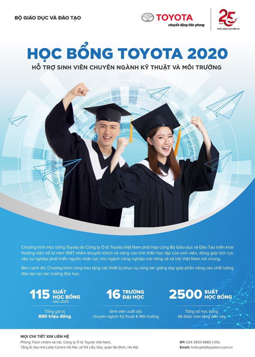 Toyota trao tặng 200 suất học bổng hỗ trợ sinh viên chuyên ngành kỹ thuật và âm nhạc-4