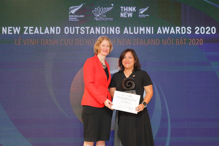 Sáu cá nhân ưu tú này đã thụ hưởng nền giáo dục đẳng cấp thế giới của New Zealand, đạt được những thành công trong sự nghiệp và tích cực đóng góp cho xã hội.- 7
