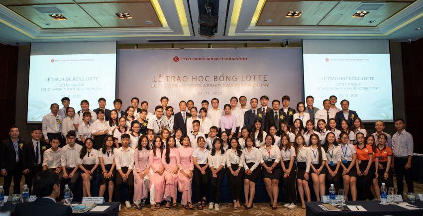 Học bổng Lotte 2020