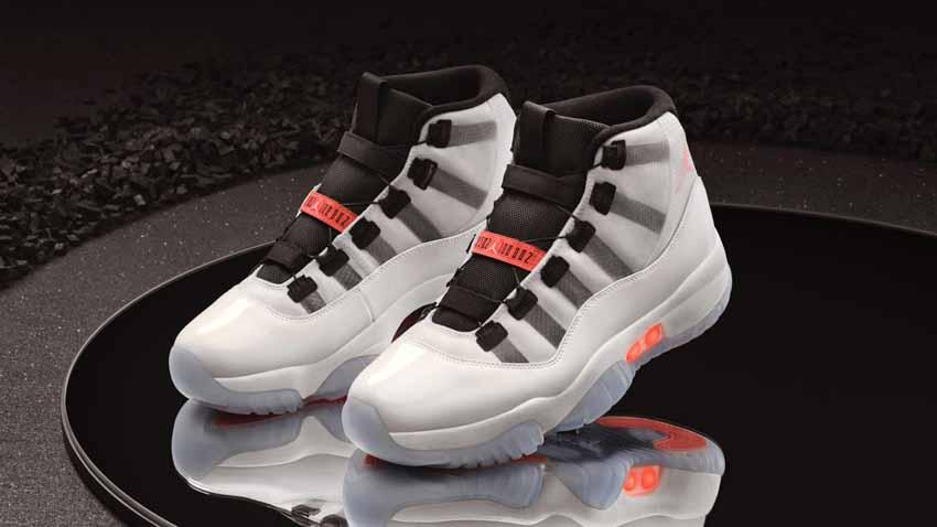 Nike ra mắt mẫu giày thể thao Air Jordan 11 Adapt tự động cột dây -2