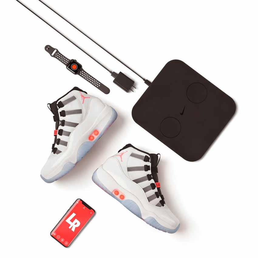 Nike ra mắt mẫu giày thể thao Air Jordan 11 Adapt tự động cột dây -4