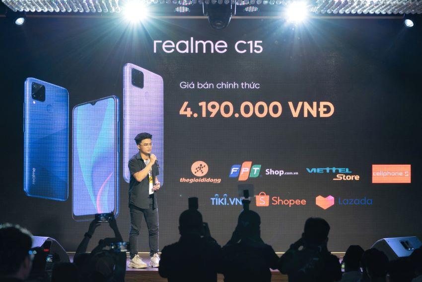 Giá Realme C15