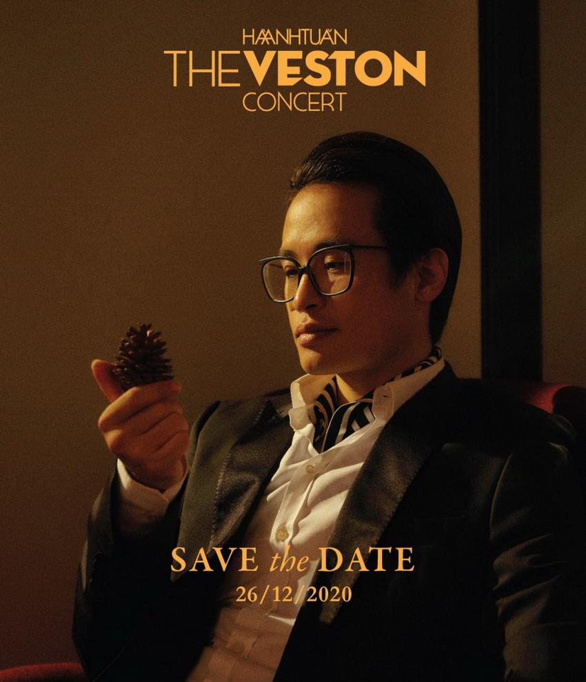 """Hà Anh Tuấn tổ chức live concert """"The Veston"""" vào tháng 12 004"""
